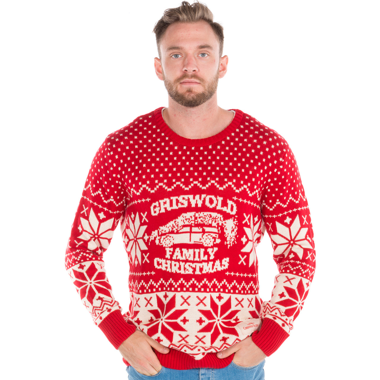 Griswold Family Car Ugly Sweater By Ripple Junction Retrofestiveca