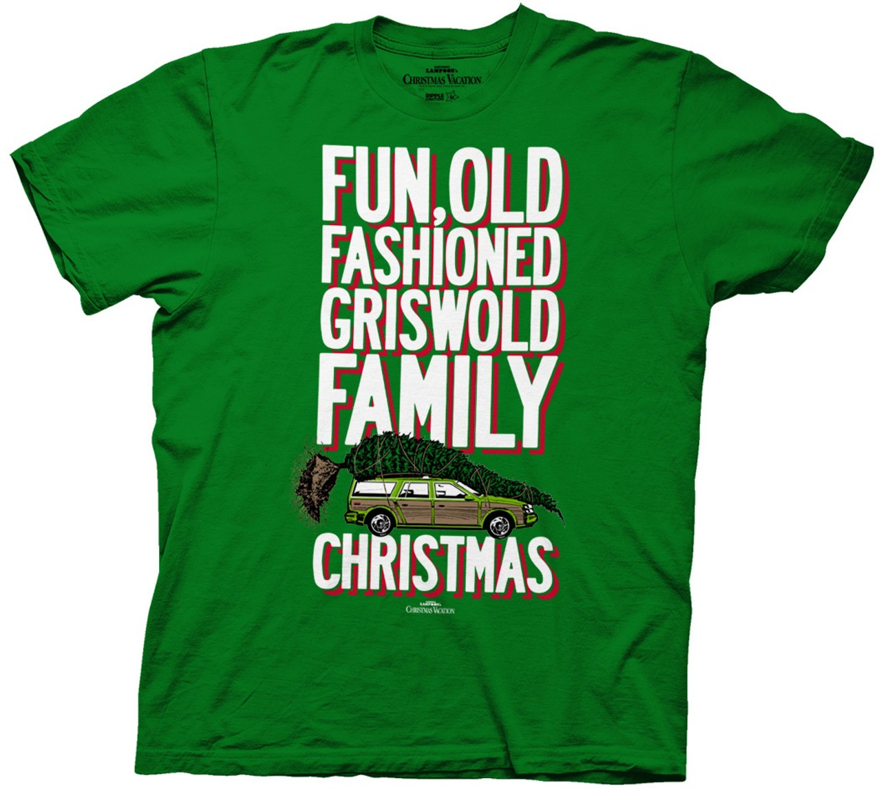 4417e070a Old Fashioned Griswold Family Christmas T-Shirt - RetroFestive.ca