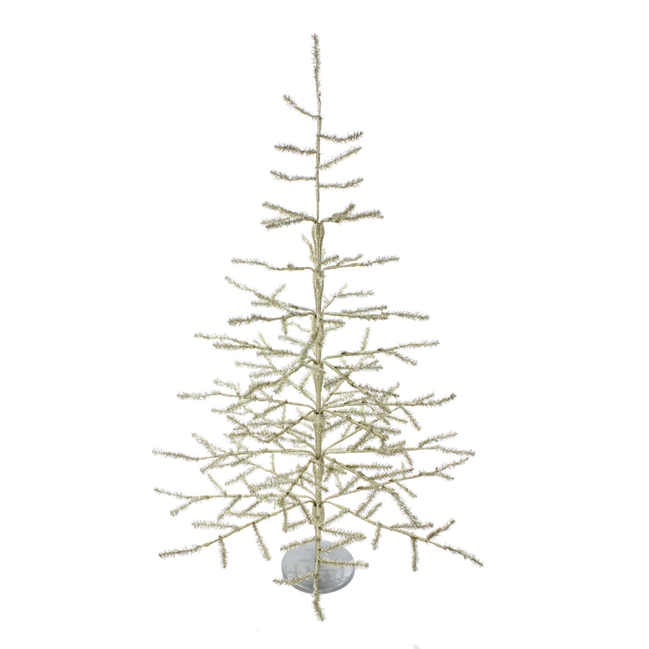 Tinsel Christmas Tree.36 Sterling Silver Tinsel Christmas Tree