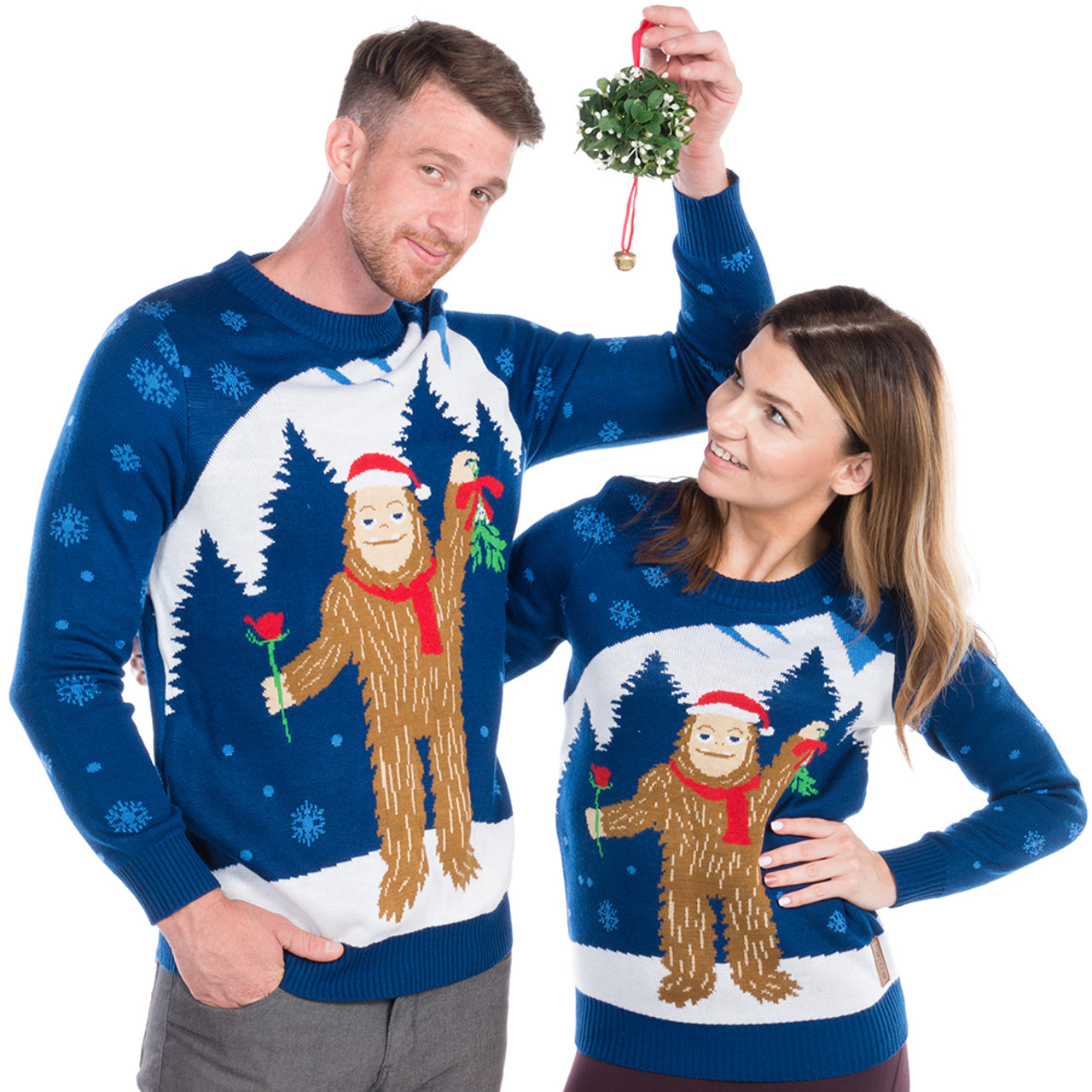 Sasquatch Ugly Sweater