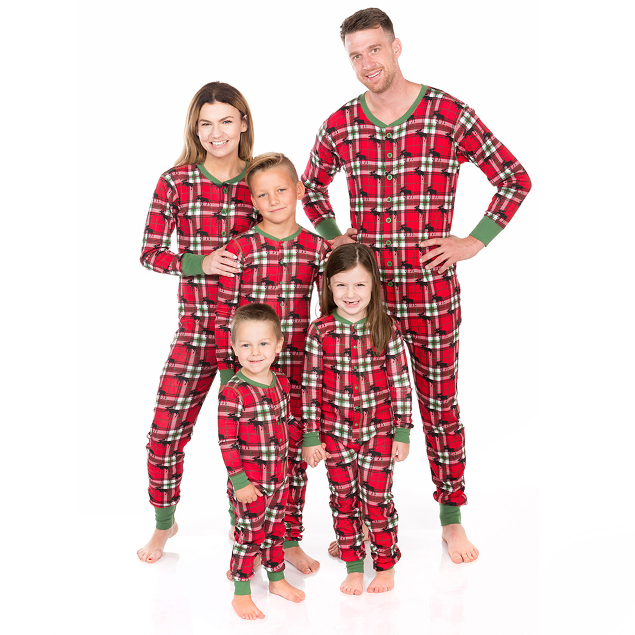 6f2f848666a3 Holiday Moose Matching Christmas Jammies by Hatley