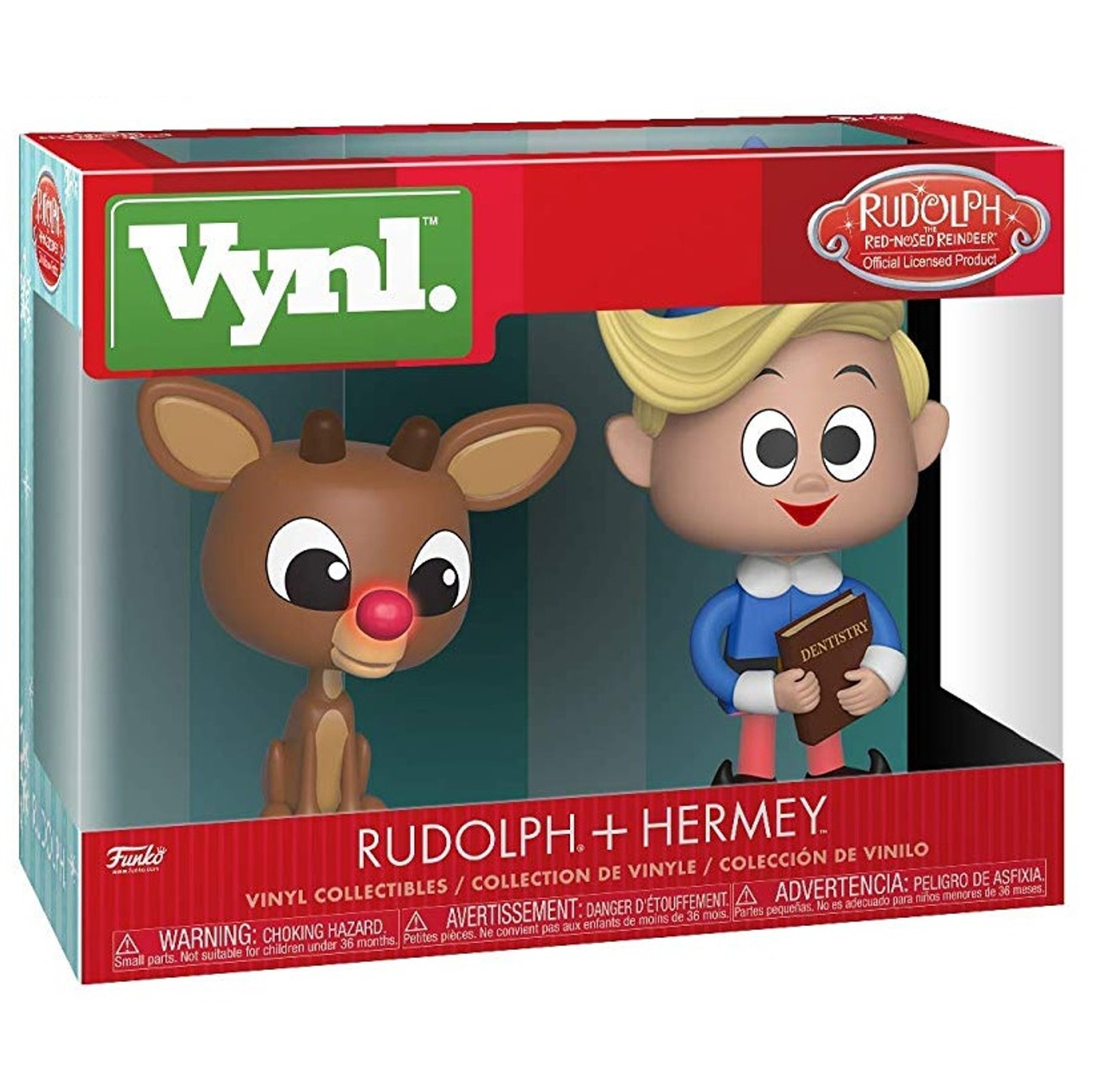 ebdad8582c8d0 Rudolph The Red-Nosed Reindeer and Hermie Set of 2 Boxed Funko Vynl Figures