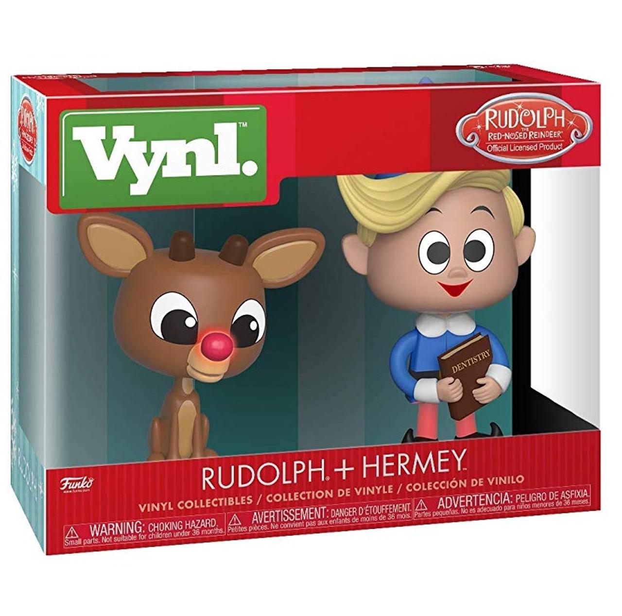 Christmas Earrings Elf Hermey Rudolph the Red Nose Reindeer TV Cartoon
