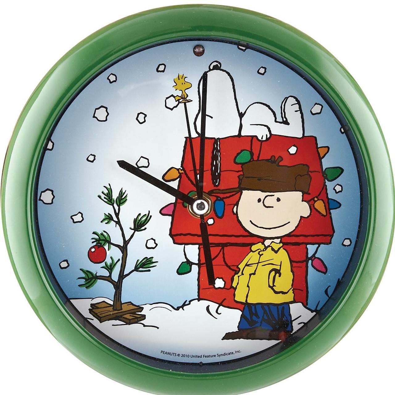 Peanuts Christmas Musical.Peanuts Christmas Caroling Clock