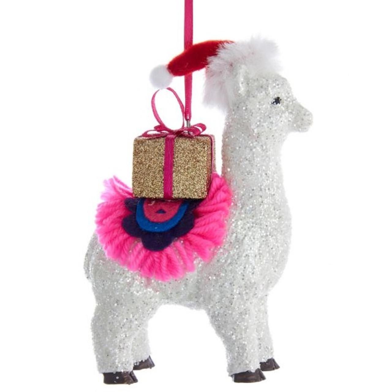 Christmas Llama.Christmas Llama Ornament
