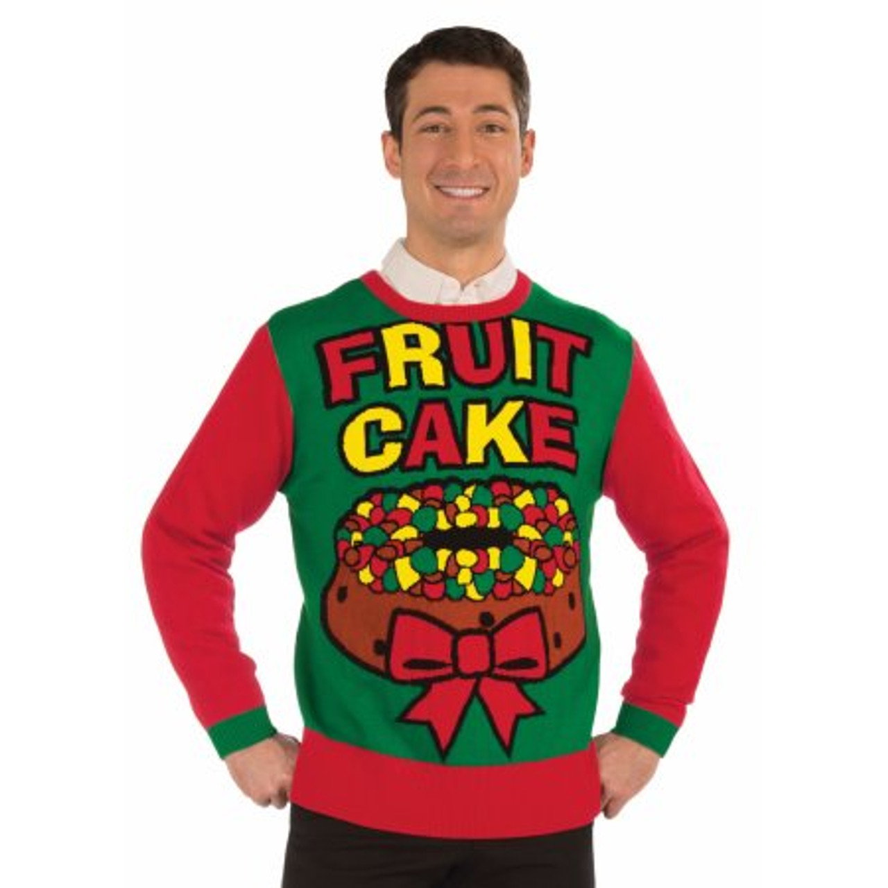 Ugly Christmas Sweater.Festive Fruitcake Ugly Sweater By Forum