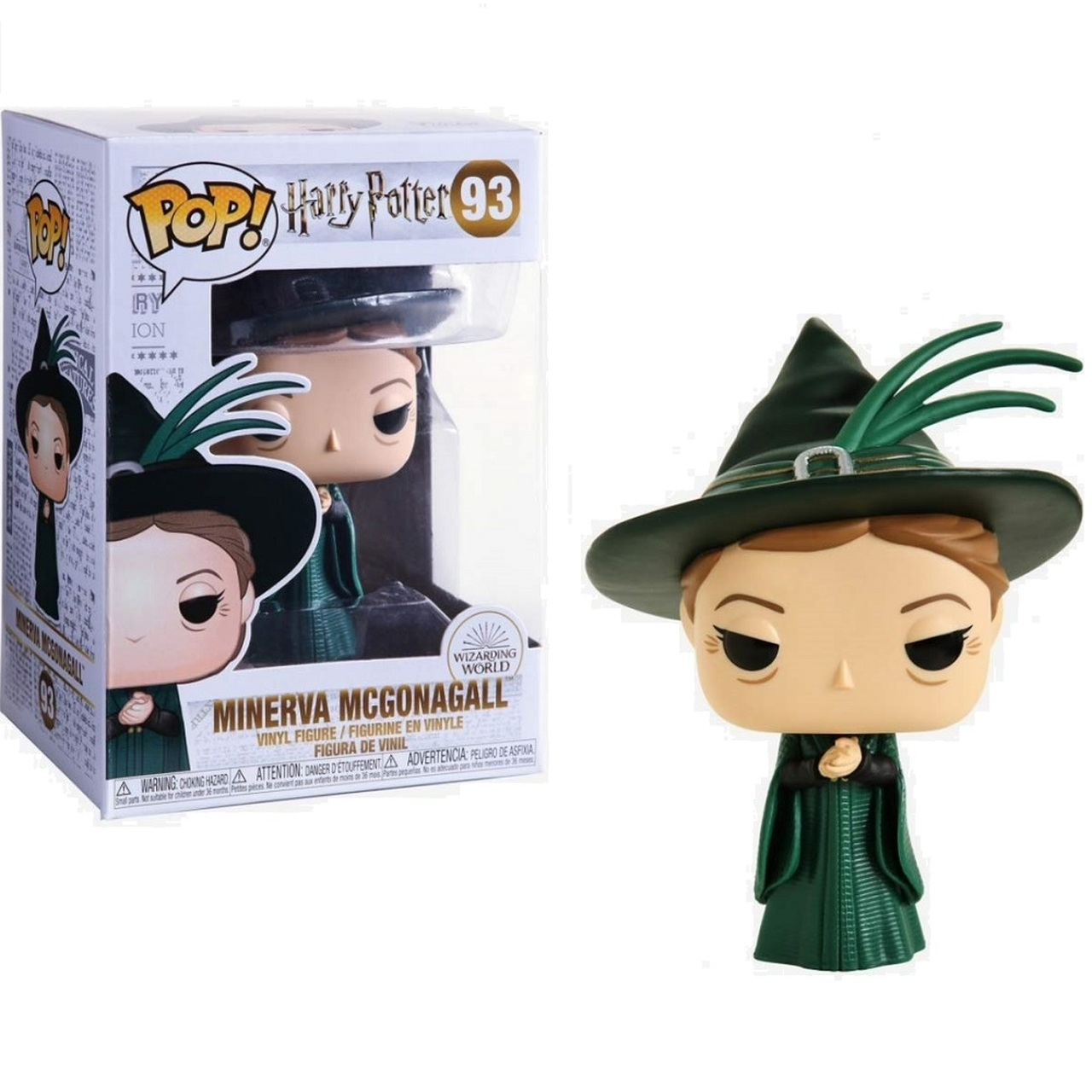Vinyl Minerva McGonagall Pop Yule Funko--Harry Potter