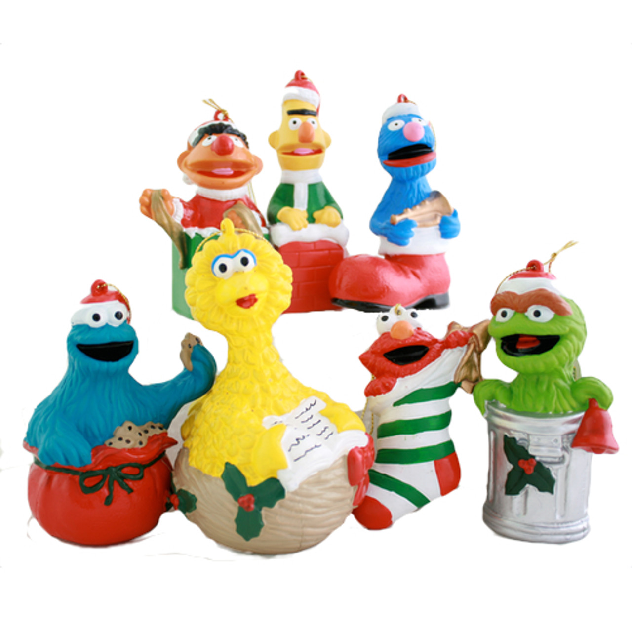 Sesame Street Christmas Ornament Collection