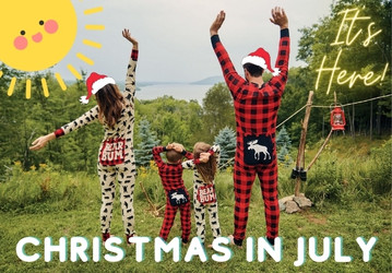 Christmas in July 2021!