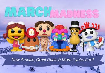 March Madness Pop Promo!