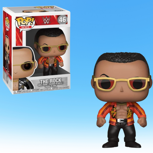The Rock Old School CHASE Funko