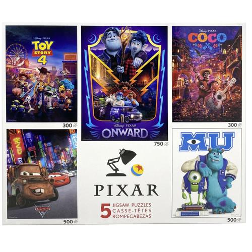 Disney Pixar 5 in 1 Puzzle Multi pack by Ceaco