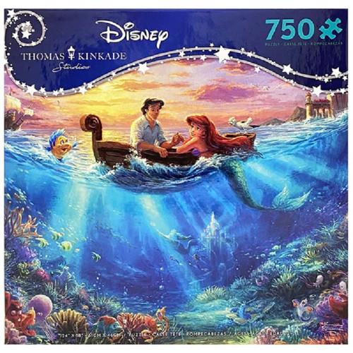 Thomas Kinkade The Little Mermaid 750 piece puzzle box