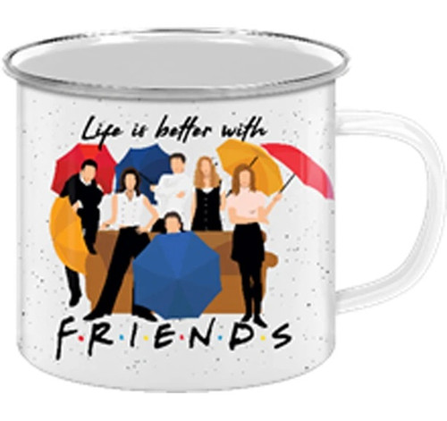 Life is Better with Friends 20 ounce Camp Mug