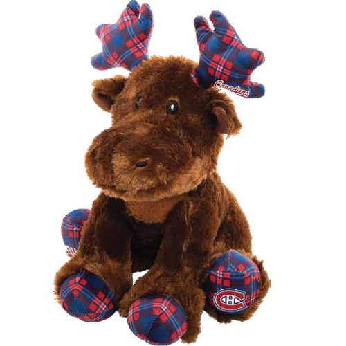 "Montreal Canadiens 12"" Plush Moose"