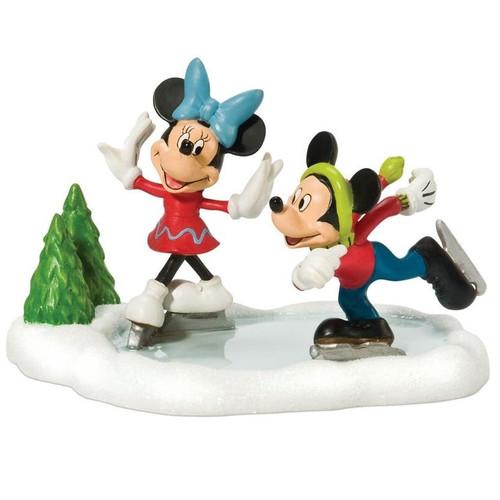 Mickey & Minnie Go Skating