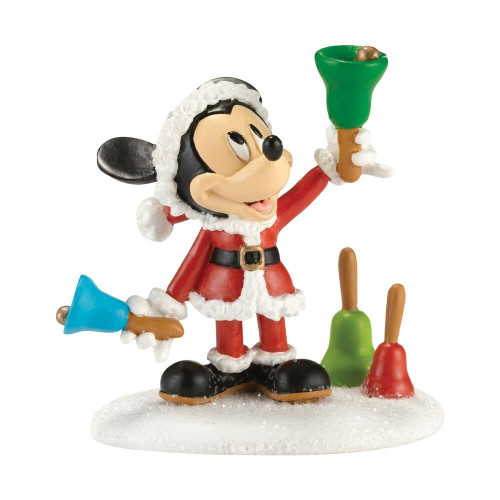 Mickey Ringing in the Holidays