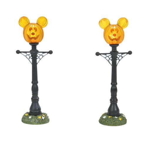Mickey's Pumpkintown Street Lights