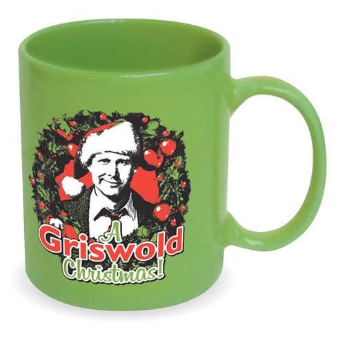 A Griswold Christmas Ceramic Mug