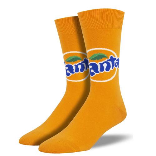 Fanta Men's Crew Socks by Socksmith Canada