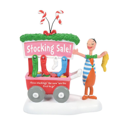 A Who's Christmas Stocking Department 56