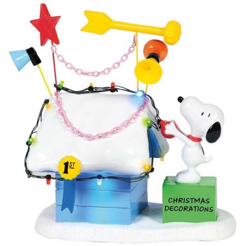 Snoopy's Ribbon Winning Doghouse