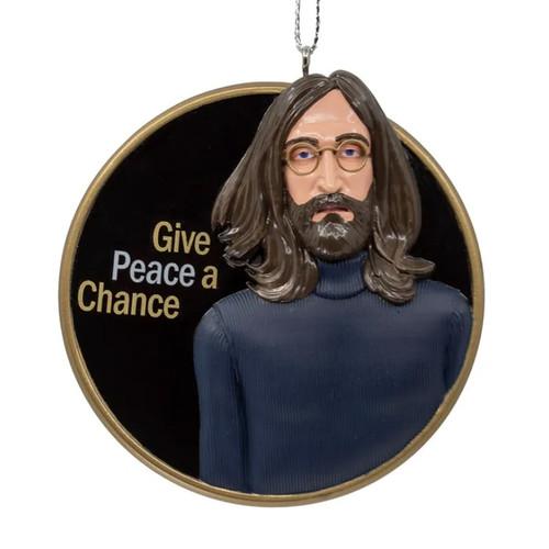 John Lennon Give Peace A Chance Ornament