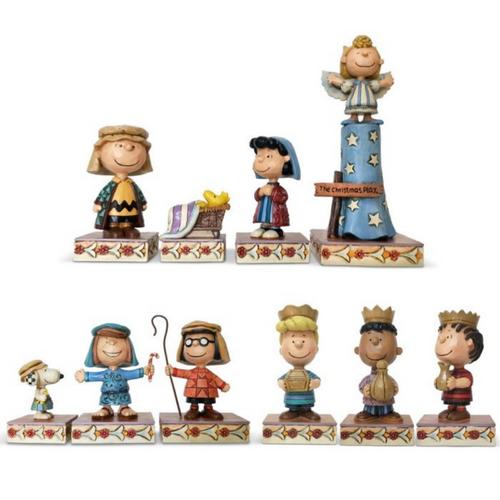 Peanuts Mini Nativity Set