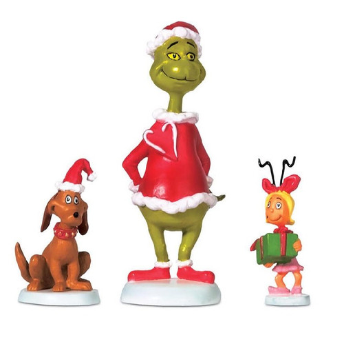 Grinch, Max and Cindy Lou Trio