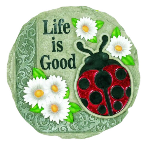Life is Good Garden Stepping Stone
