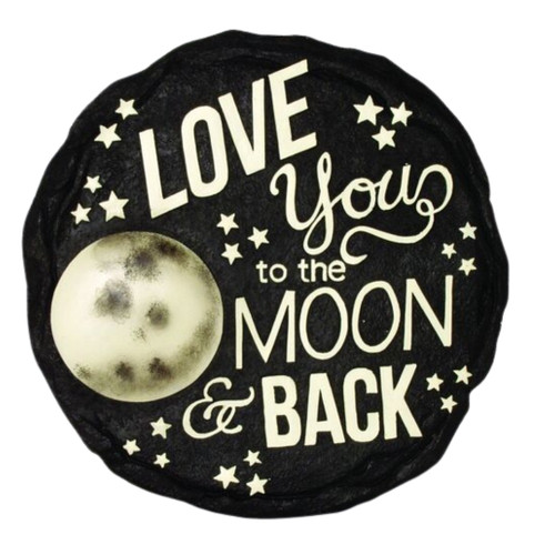 Love you to the Moon and Back Stepping Stone