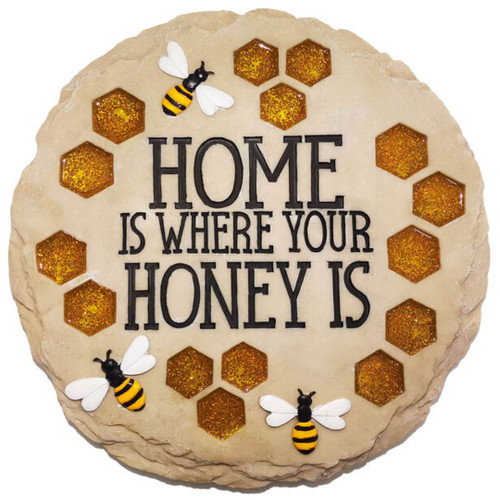 Bumble Bee Garden Stepping Stone