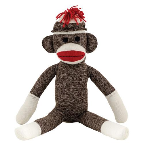 "Old-Fashioned 20"" Sock Monkey"