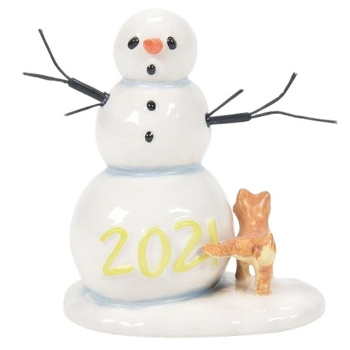 Lucky the Snowman 2021 Figure