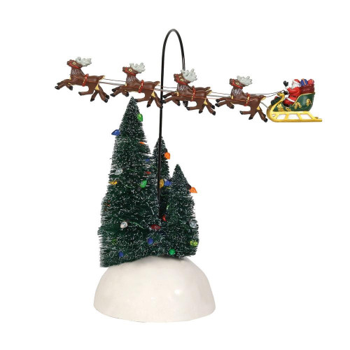Up Up and Away Flying Santa Sleigh