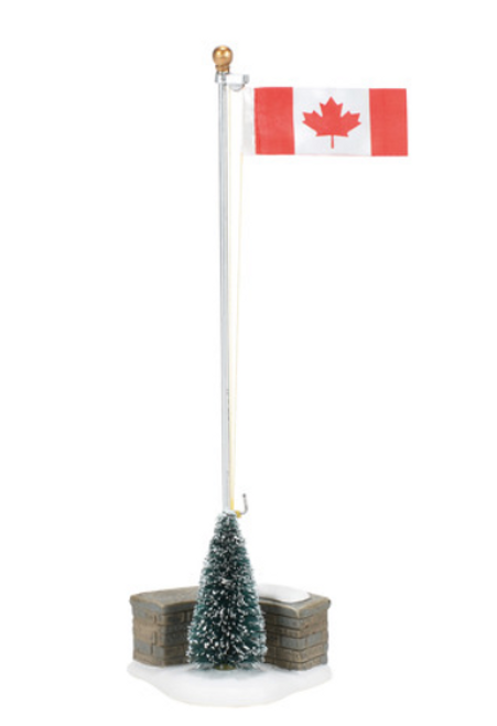 Canada Strong Flag Department 56