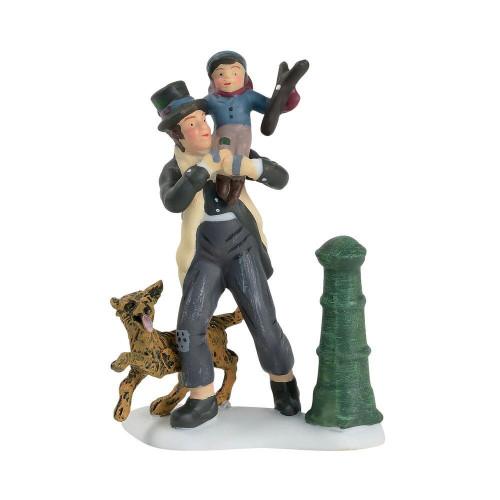 Bob Cratchit & Tiny Tim Figure