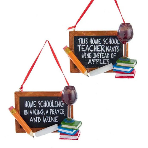 Home Schooling Ornaments