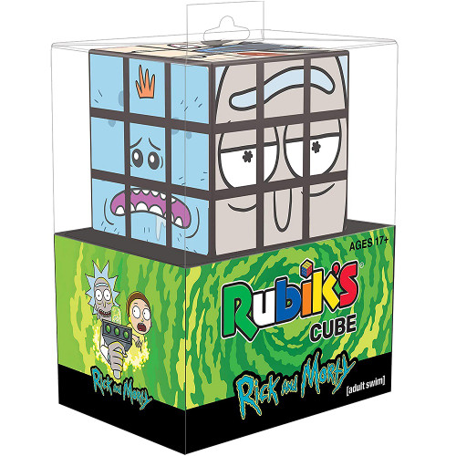 Rubiks Cube: Rick and Morty