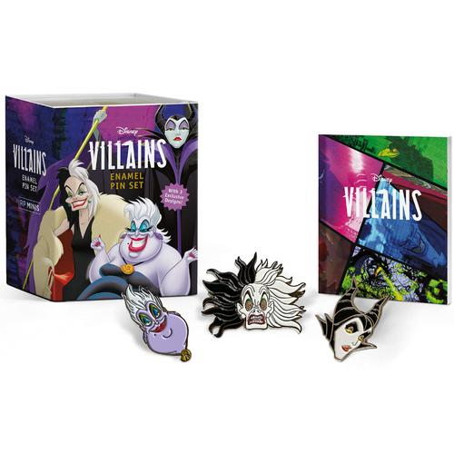 Disney Villains Enamel Pin Set