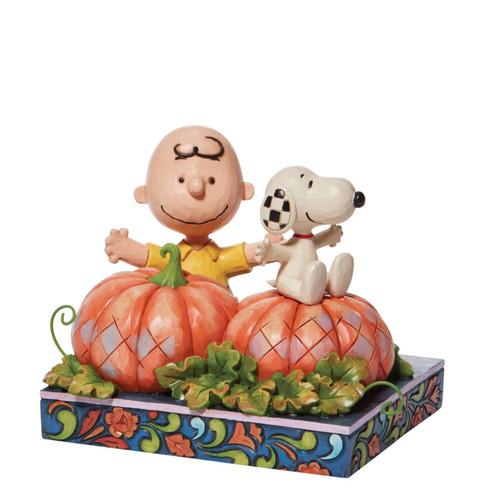Charlie Brown & Snoopy w/ Pumpkin Patch