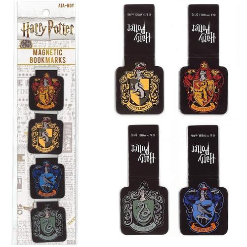 Harry Potter Crests Magnetic Bookmarks