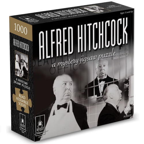 Alfred Hitchock 1000pc Mystery Puzzle