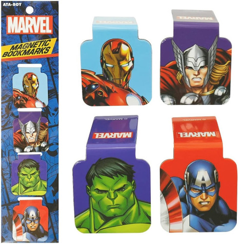 The Avengers Magnetic Bookmarks