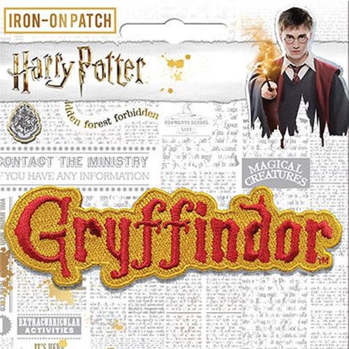 Harry Potter Gryffindor Name Crest