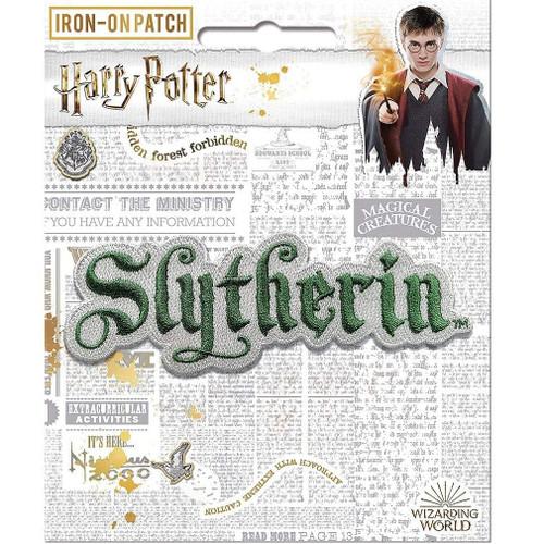 Harry Potter Slytherin Name Crest