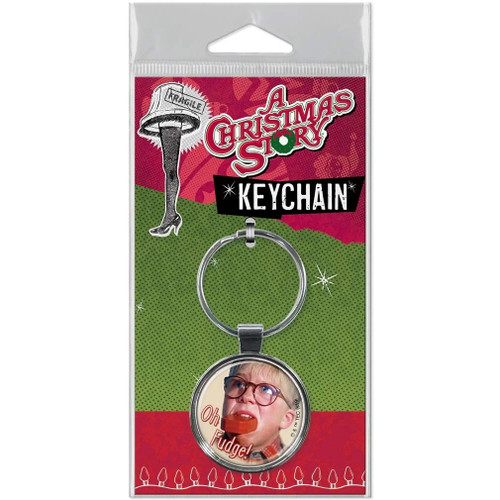 A Christmas Story Oh Fudge! Keychain