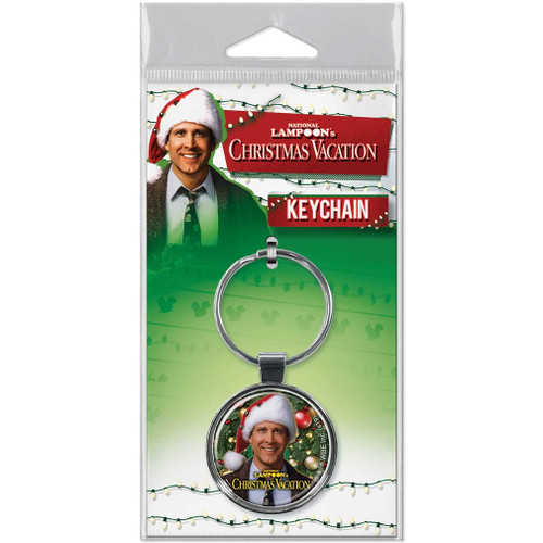 Christmas Vacation Clark Griswold Keychain