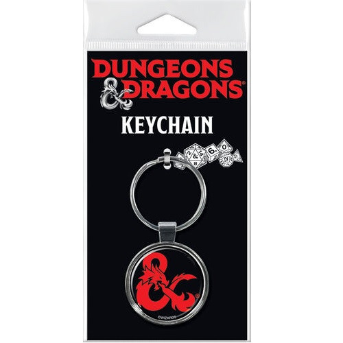 Dungeons and Dragons Ampersand Keychain