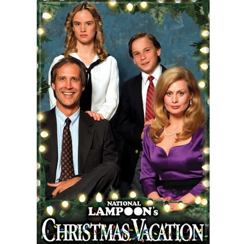 Christmas Vacation Family Photo Fridge Magnet